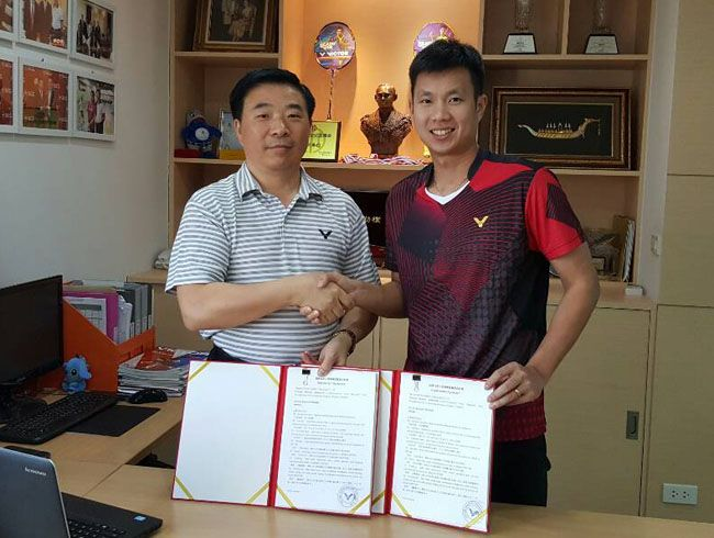 "VICTOR Extends the Contract with Thai ""Superman"" Boonsak Ponsana"