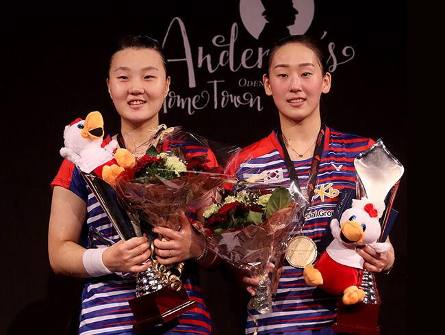 Korean Women Rises - Lee / Shin lifted the trophy at Denmark Open