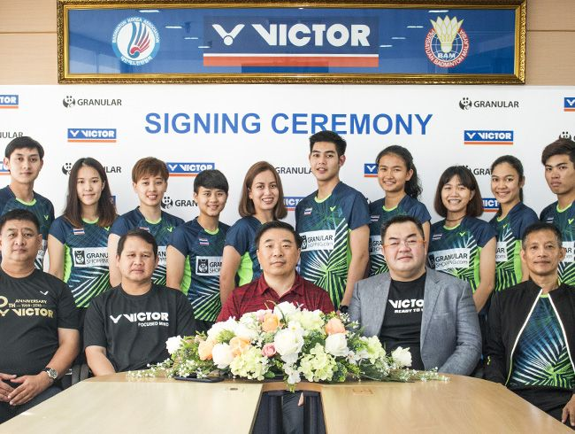 Thailand Granular club signs with VICTOR