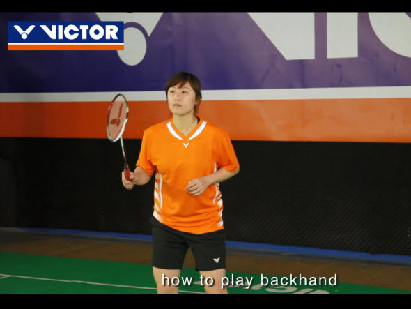 Basic backhand tactics (1):Clears and Drives