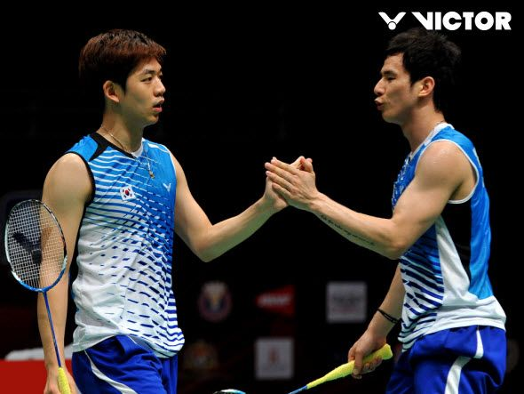 KOREA NATIONAL TEAM WEAR in Sudirman Cup 2013