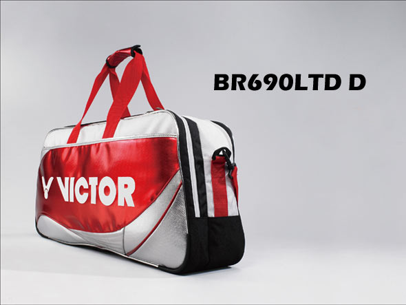 BR690LTD racket bag-A bag with the quality feel of a luxury bag!