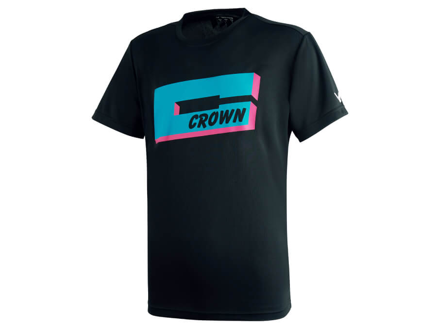 Crown Collection Unisex Graphic Tee (Black) T-2012 C