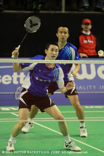 men's doubles of Chinese Taipei, Chieh Min Fang/ Sheng Mu Lee