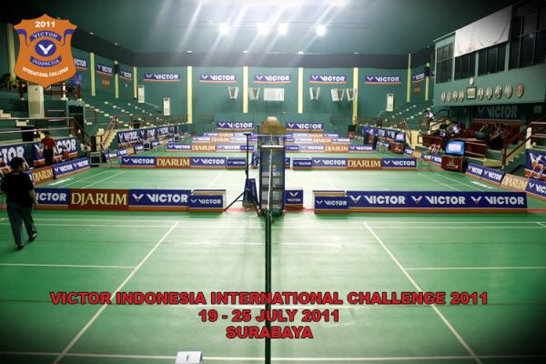 VICTOR Indonesia International Challenge 2011 has reached its final game. Indonesia won 4 titles from 5 competition segments