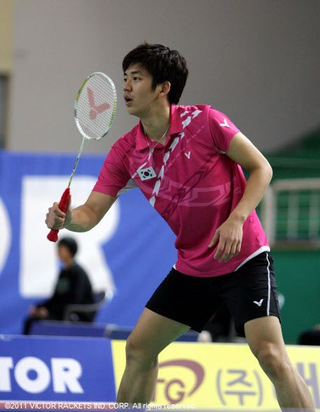Experience the Olympic gold medal winner Lee Yong Dae ... Badminton Racket