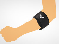 Pic 1.Pressure type elbow band