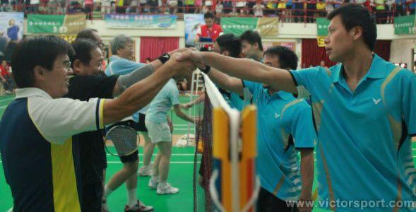 Badminton court etiquette