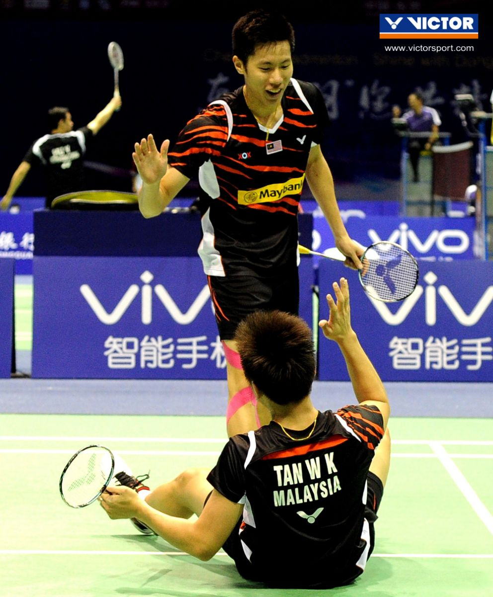 Malaysia Seals 3 2 Victory Over 2nd Seed Korea VICTOR Badminton