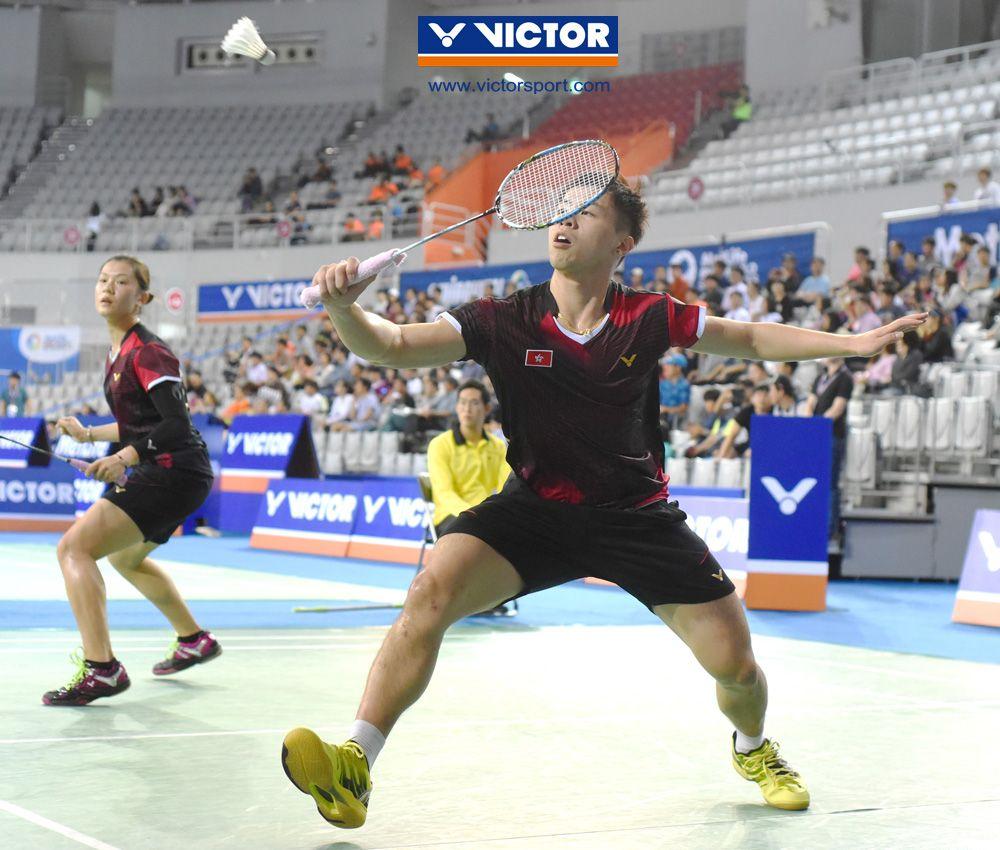 Hong Kong Open Son Tai Back Defending Hong Kong Crowns VICTOR
