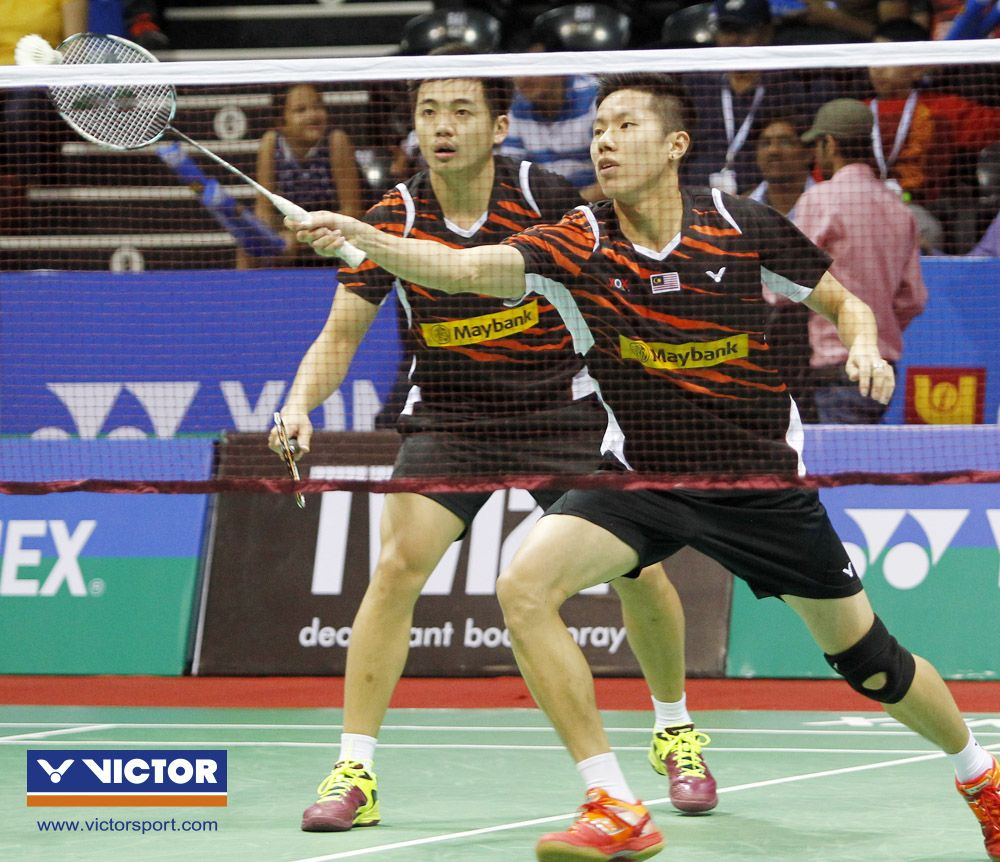 Spirited Goh Kevin Markus Set New Heights VICTOR Badminton