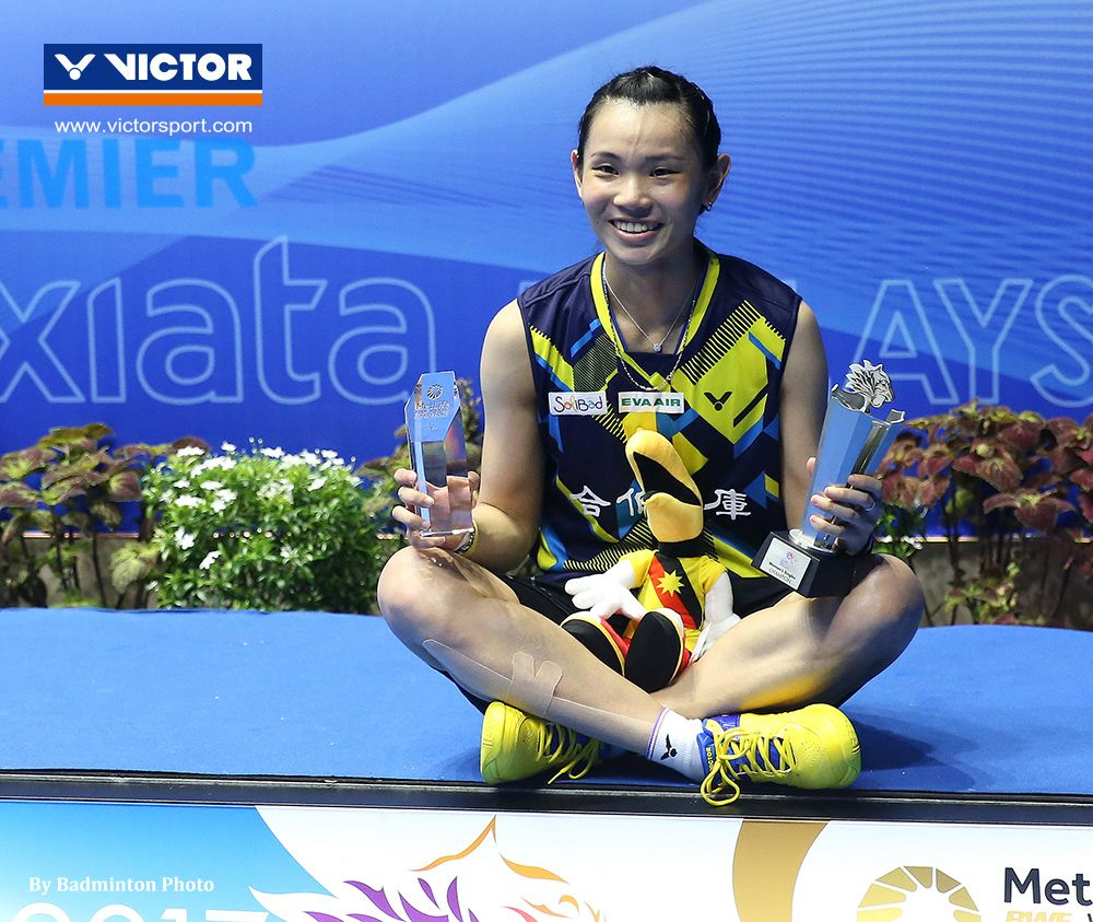 Fourth title in a row for Tai Tzu Ying VICTOR Badminton