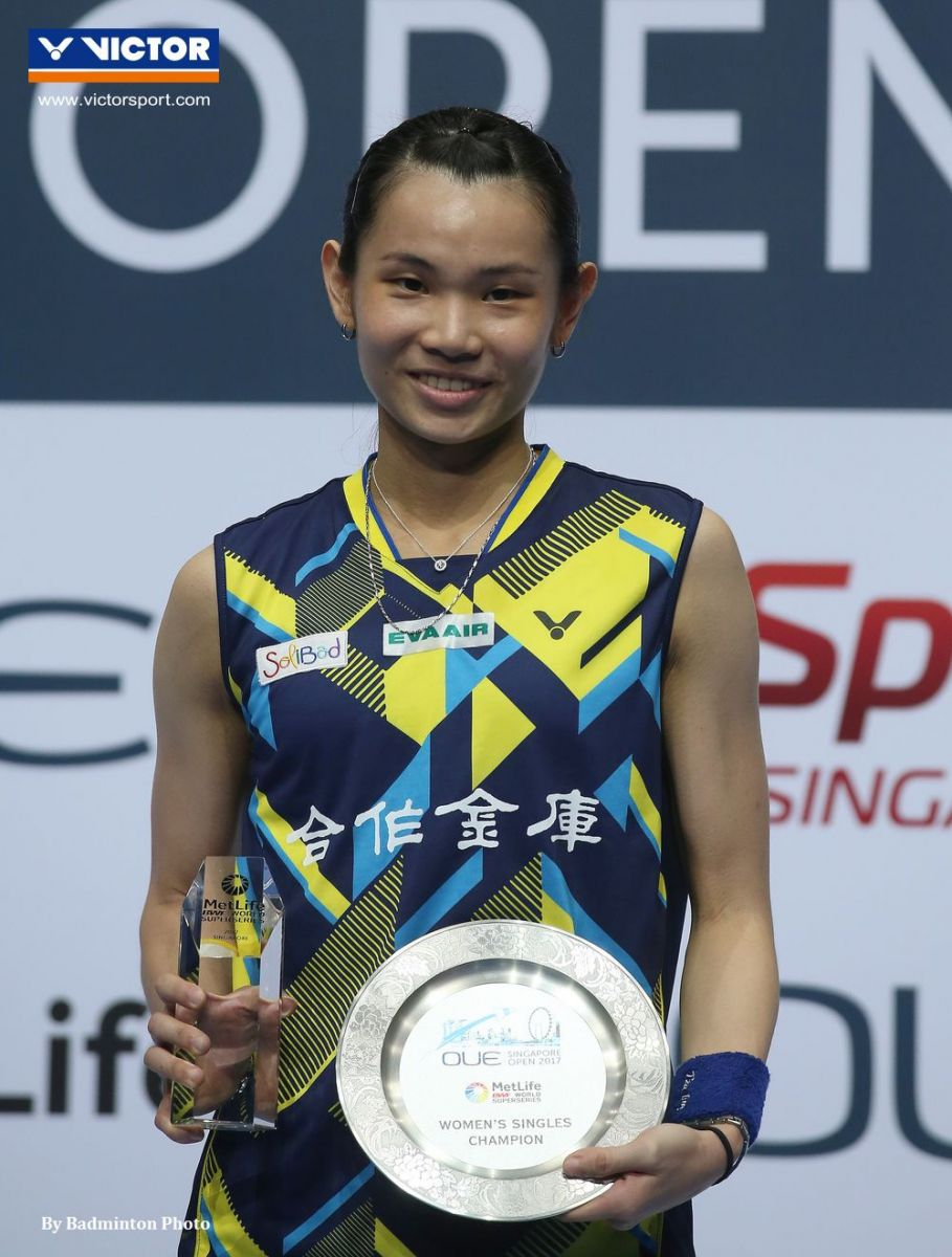 When 4 became 5 in a row for Tai VICTOR Badminton